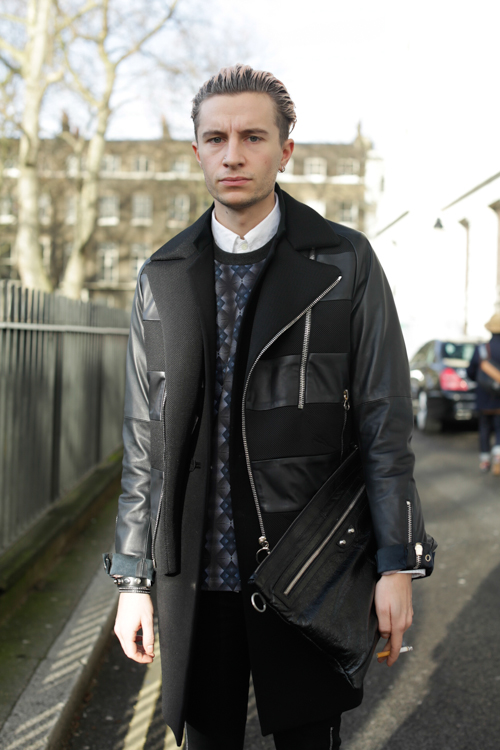 Street Style LCM AW14 'Ripped And Rest' (Junior Fashion Editor GQ Style - Gary Armstrong) - 01.jpg