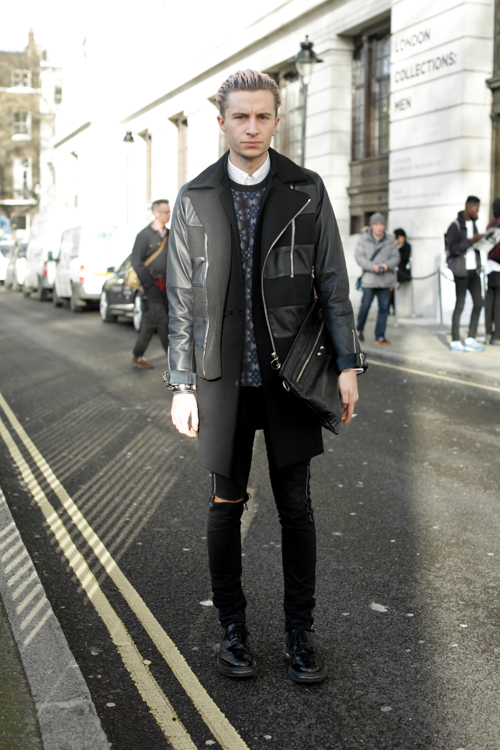 Street Style LCM AW14 'Ripped And Rest' (Junior Fashion Editor GQ Style - Gary Armstrong) - 02.jpg
