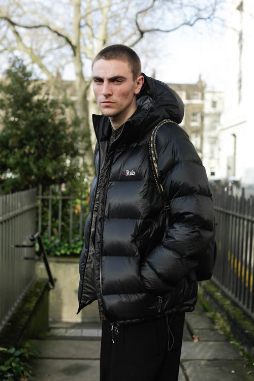 Street Style LCM AW14 'Puffed Boy' (LN-CC Stylist - Joshua Brinksman) - 01.jpg