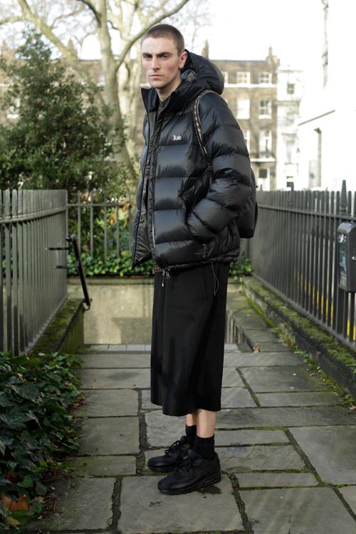 Street Style LCM AW14 'Puffed Boy' (LN-CC Stylist - Joshua Brinksman) - 02.jpg