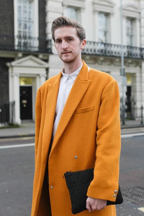Street Style LCM AW14 'Sunshine Boy' (Associte Fashion Editor Drapers - Graeme Moran) - 01.jpg