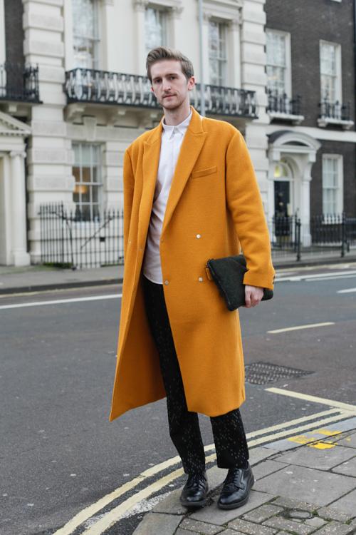 Street Style LCM AW14 'Sunshine Boy' (Associte Fashion Editor Drapers - Graeme Moran) - 02.jpg