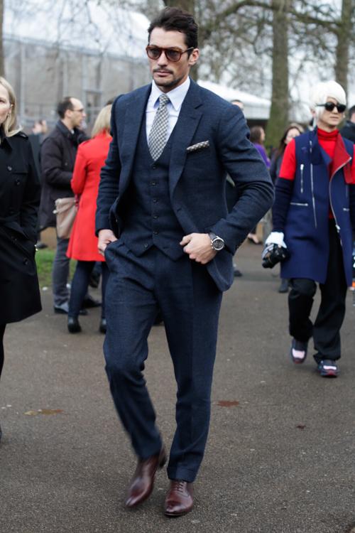 Street Style LCM AW14 'Gentleman Innuendoes' (Model - David Gandy) - 03.jpg
