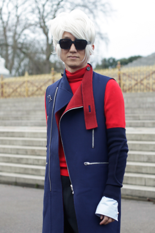 Street Style LCM AW14 'Wrapped In Raf' (Masahiro) - 01.jpg