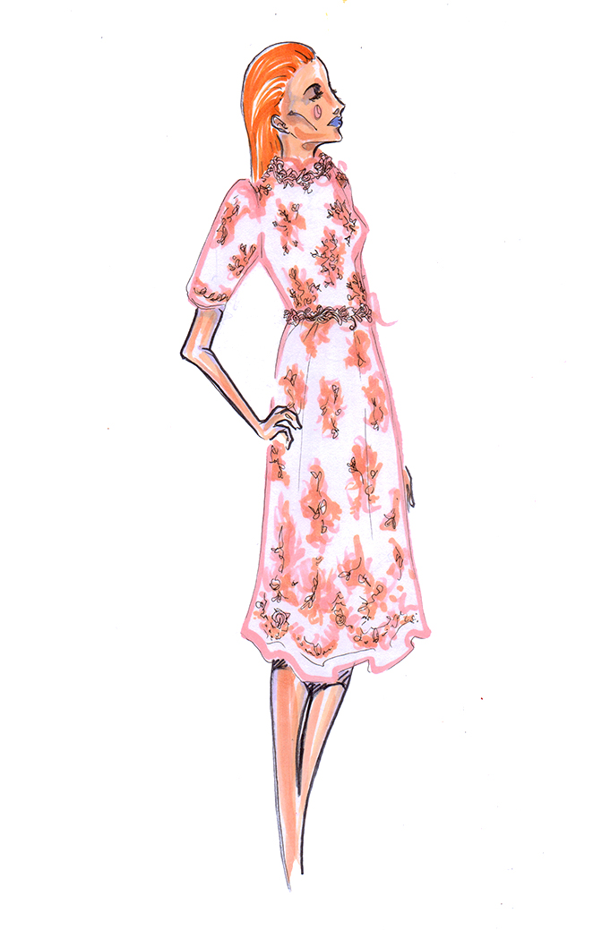 Autumn Fashion Illustration Fashion Illustration Scott w