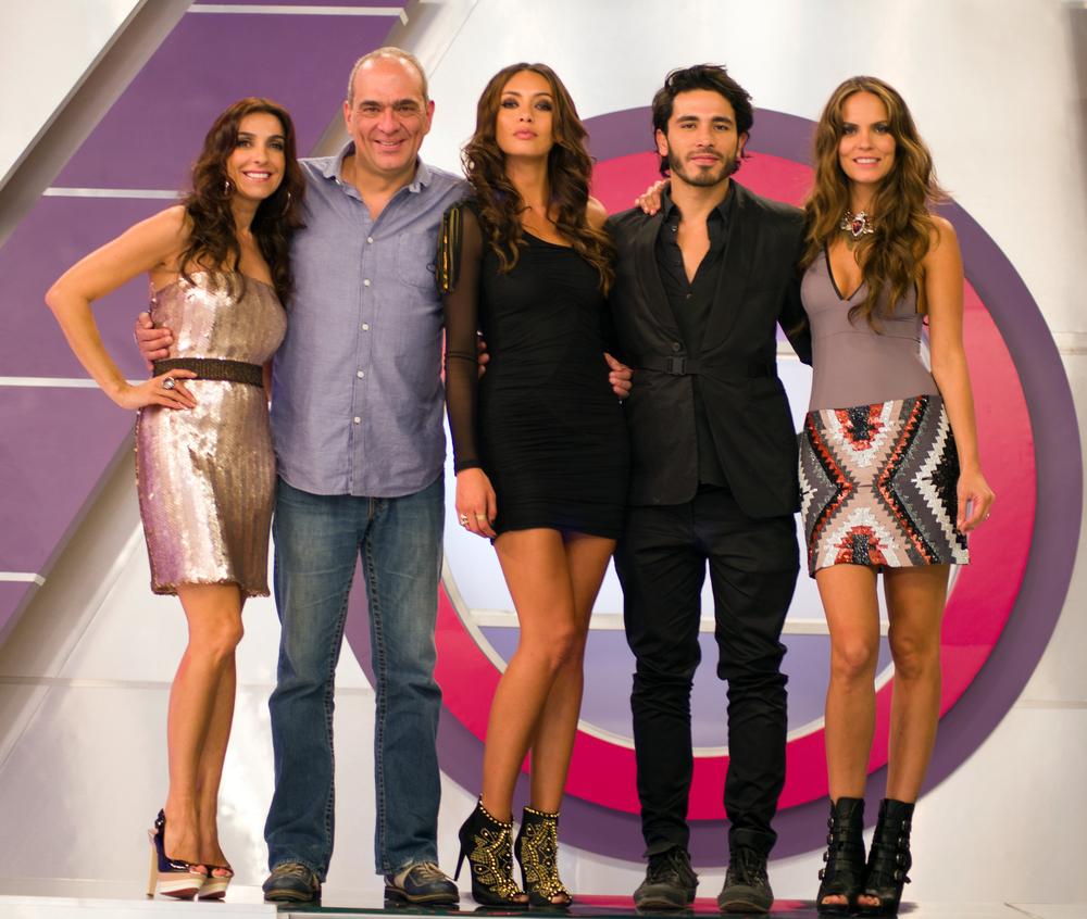 Kika Rocha, Juan Maldonado, Carolina Guerra y Catalina Aristizabal