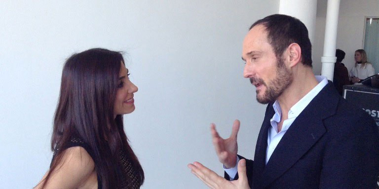 Con Josep Font