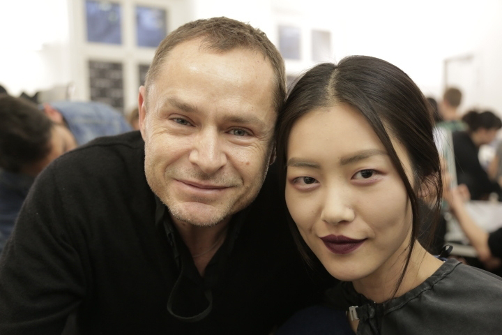 Tom Pecheux and Liu Wen.jpg