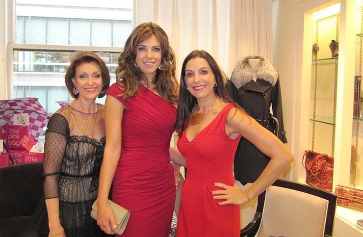Evelyn Lauder, Elizabeth Hurley y Kika Rocha