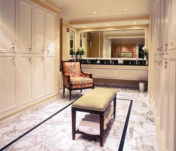 La Prairie at The Ritz-Carlton Spa ladies room
