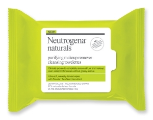 Naturals Purifying Makeup Remover Cleansing Towelettes