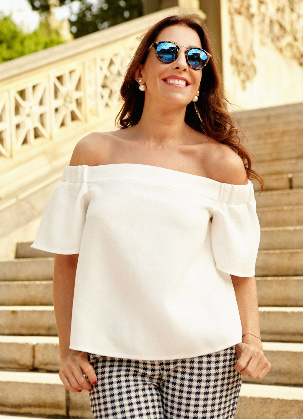 KIKA ROCHA MODA WHITE OFF SHOULDER SHIRT.jpg