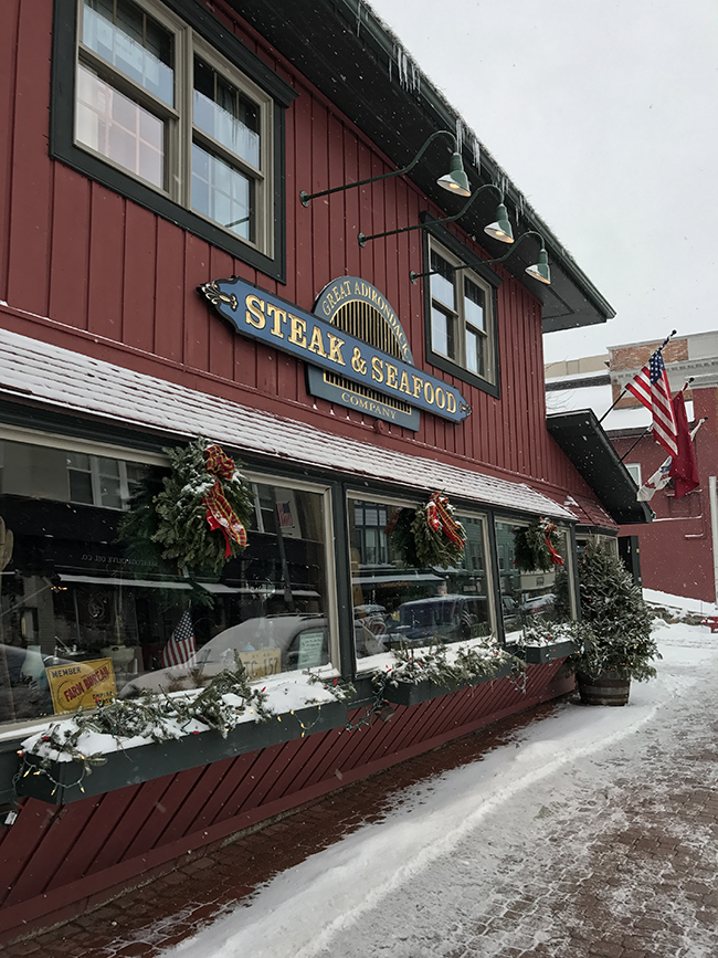Great Adirondack Steak & Seafood Company.