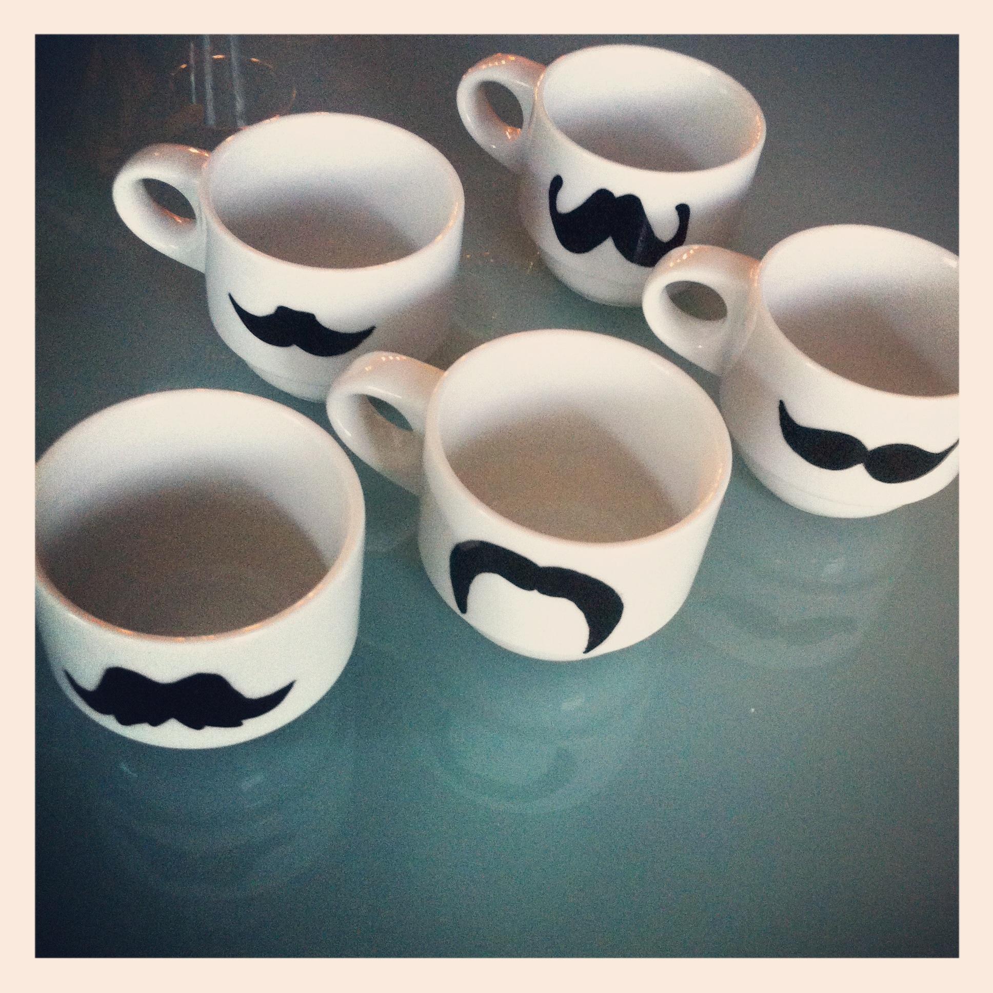 flutie*mcd mustache mugs