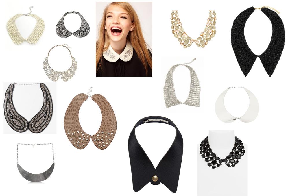 collar necklace wish list