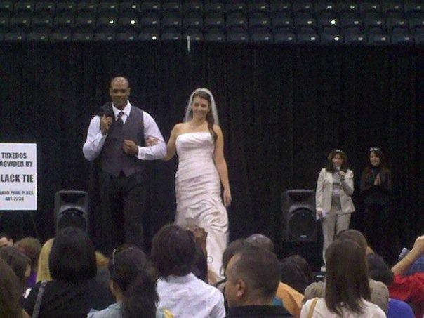 Black Tie on the runway at last year's Bridal Blast.