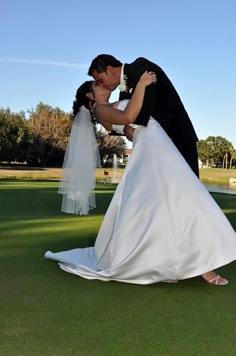 bride and groom on green.JPG