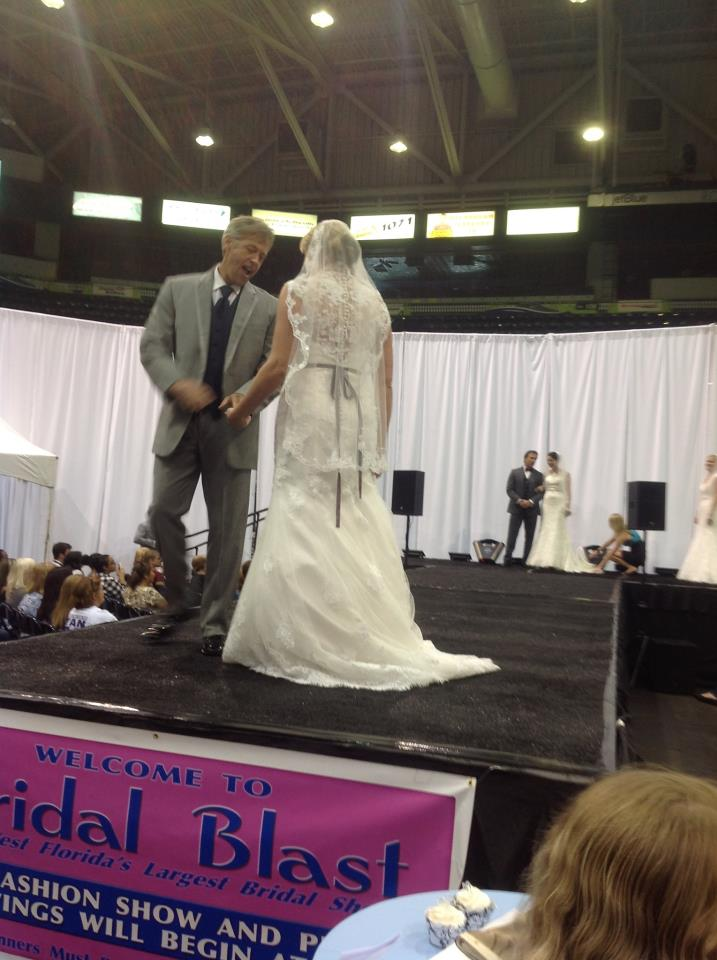 Black Tie Tuxedos during the fashion show at the Bridal Blast February 2013.
