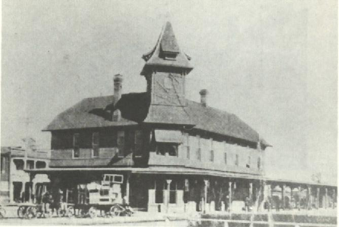 San Antonio Railroad Depot