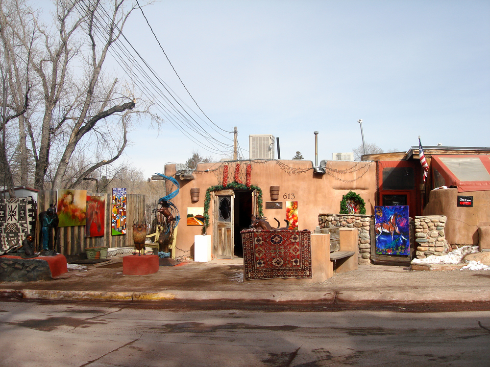 Canyon Road Art Gallery, Santa Fe NM