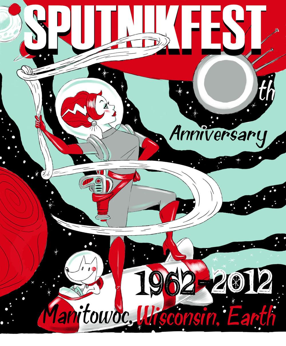 Sputnikfest 2012 Poster