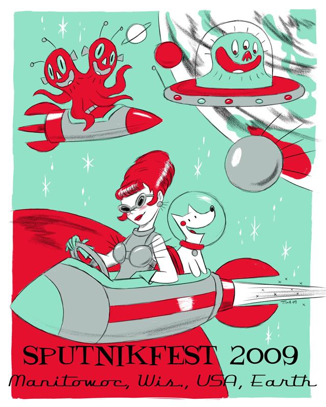 Sputnikfest 2009 Poster