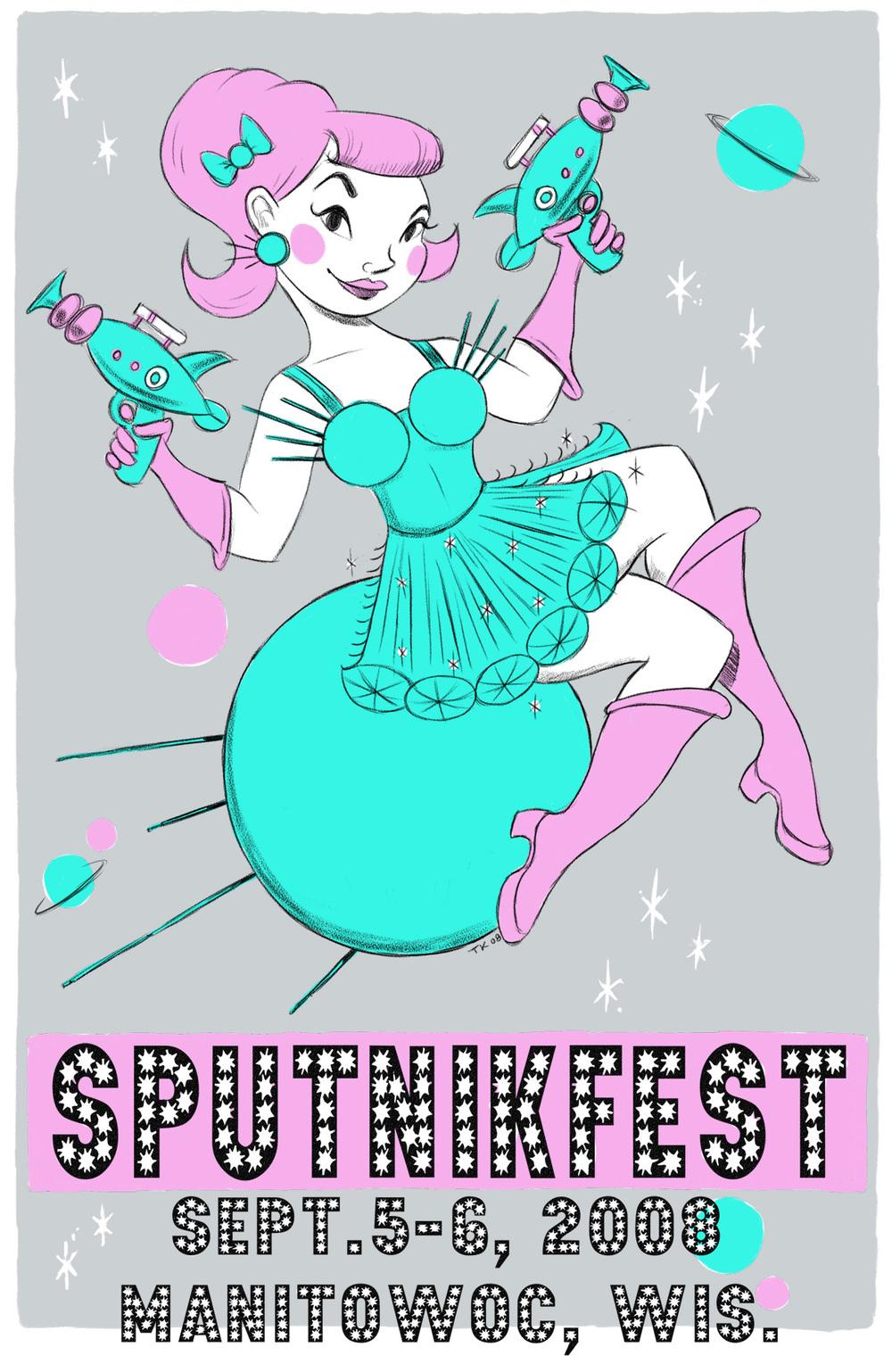 First Sputnikfest Teaser Poster 2008