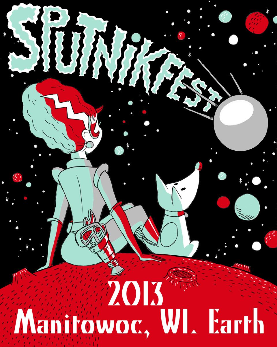 Sputnikfest 2013 Poster