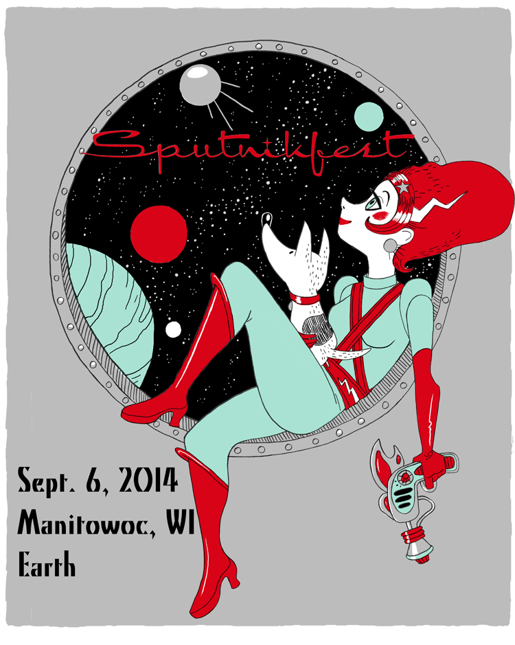 Sputnikfest 2014 Poster