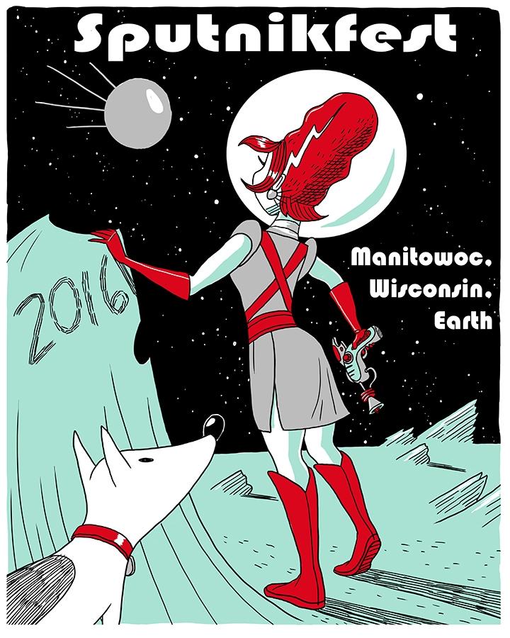 Sputnikfest 2016 Poster