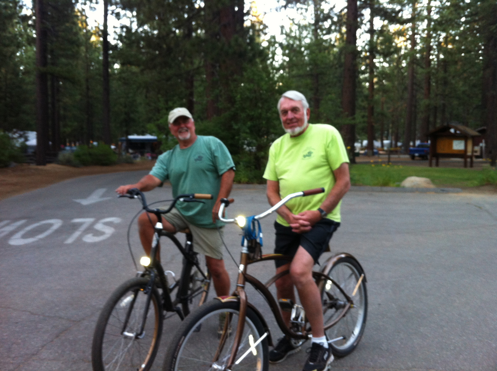 "Walt and Rich - our two ""Papa Bears"" that kept watch over us in Tahoe."