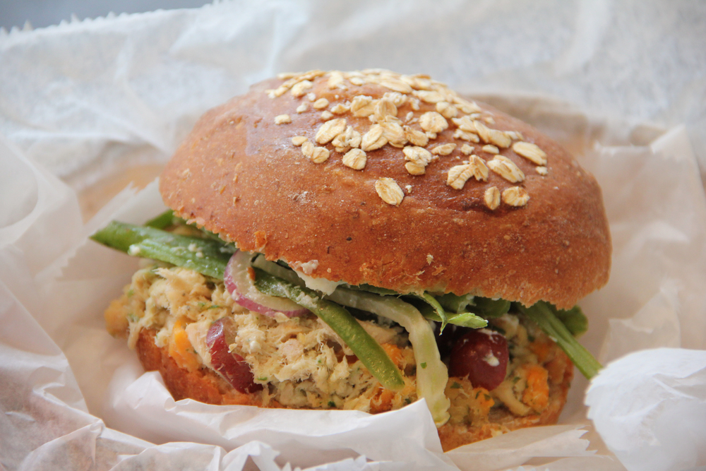 Treats on Washington's Harvest Tuna Salad Sandwich