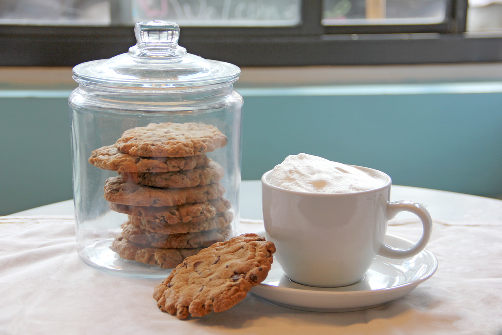 Treats on Washington's Chocolate Chip Cookies and Cappuccino