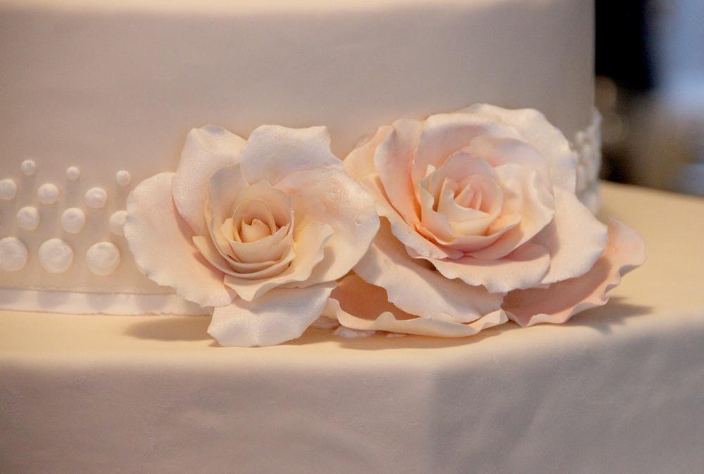 Wedding Cake by Treats on Washington