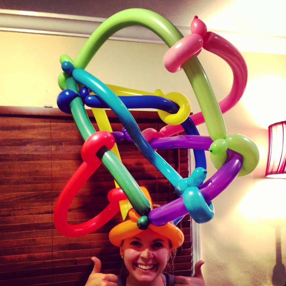 Balloon Twisting Crazy Hat Learn How