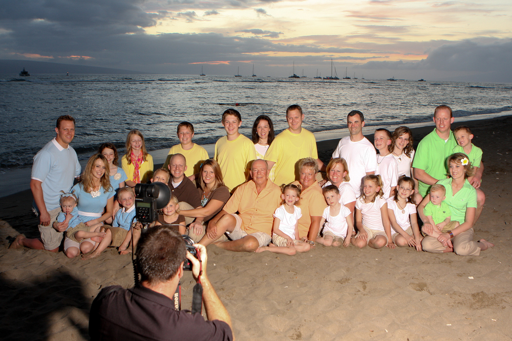 Professional Grins 2 Go Beach Portrait Session on Maui
