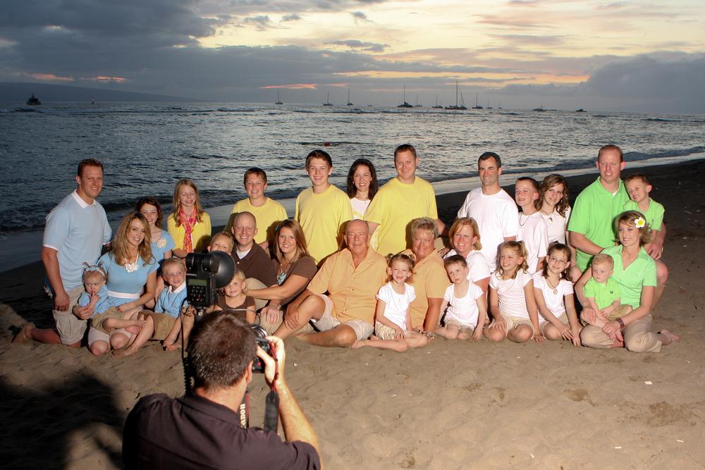 Professional Grins 2 Go Beach Portrait Session on Maui