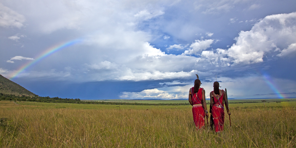 A walk on the Masai Mara