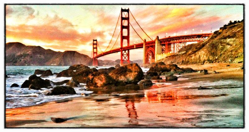 iPhone image, processed in Nik's Snapseed.