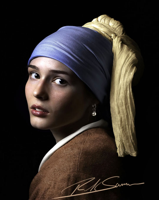 revisiting my girl with a pearl earring photograph rick sammon