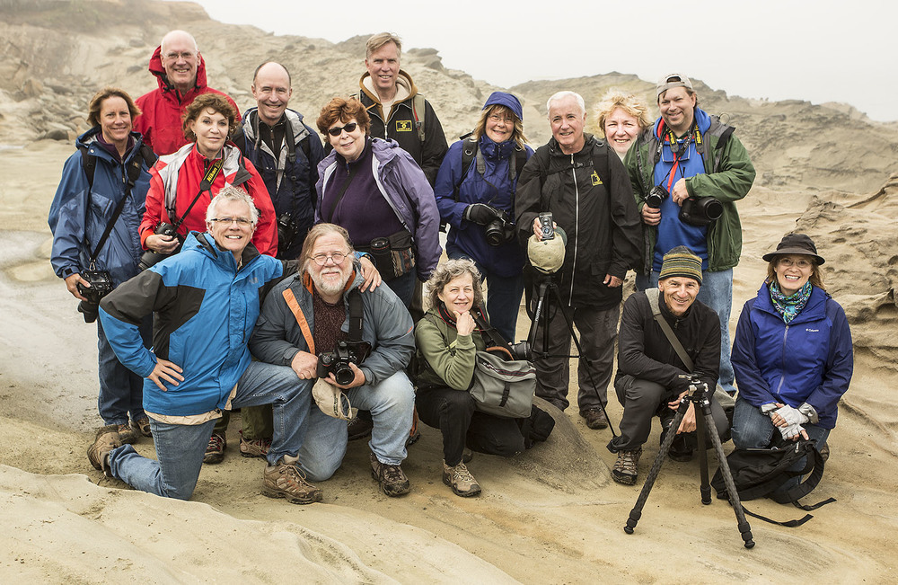 September 2013 Oregon Coast Photo Workshop Participants.