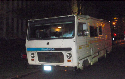 Why not just donate an RV? Street hoperuns from an RV- the ultimate setting for this lovely ministry, with it being a transportable kitchen/living room for hosting guests. They're in need of another RV however and the donation of another RV would be hugely significant. Do you or a friend have an RV that's itching for a life on the streets?