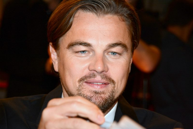 Best Actor Winner Leonardo DiCaprio