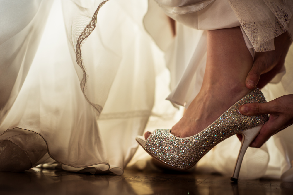 The perfect cinderella slipper to marry a prince