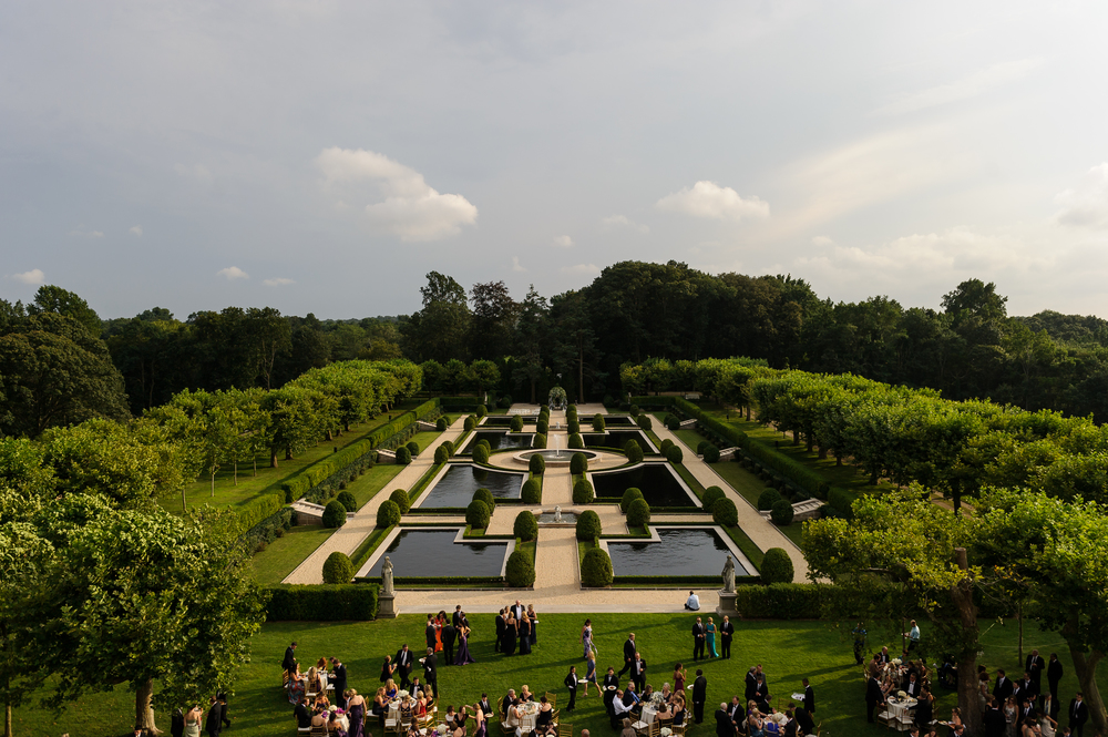 The view was magnificent!  The guest could wander the gardens, and enjoy the evening with friends and family.
