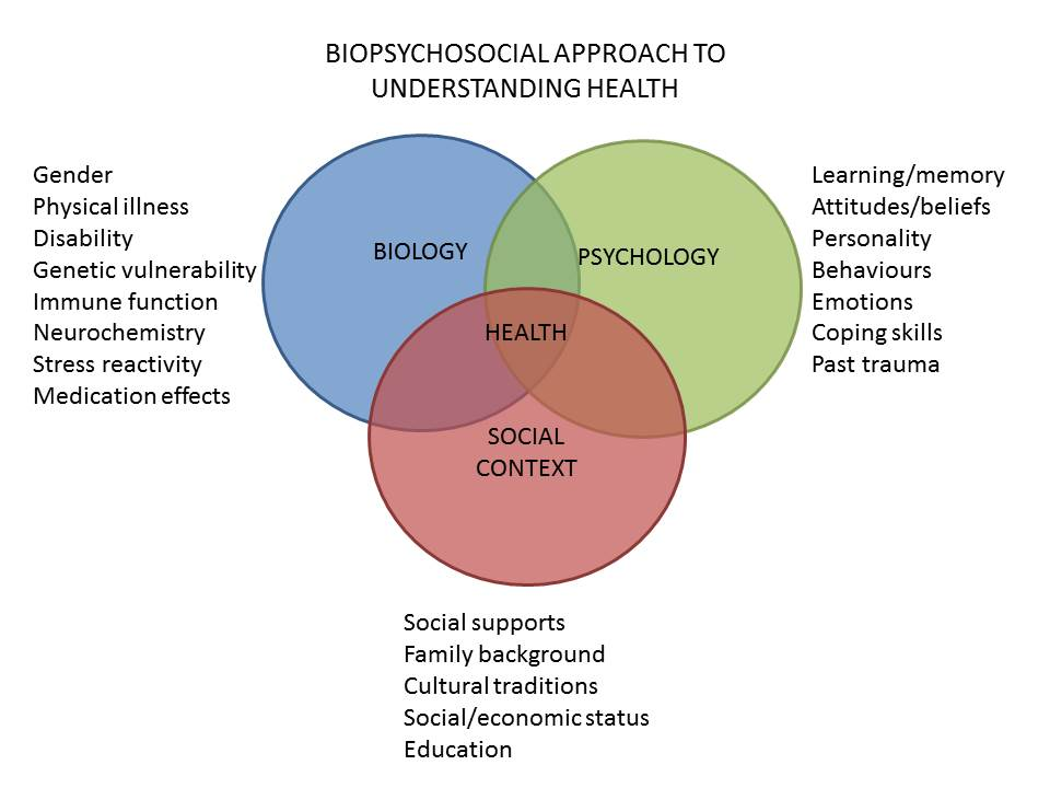 Biopsychosocial Model of Health.
