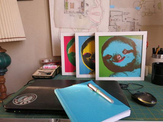 Warhol-Sloths----Framed.jpg
