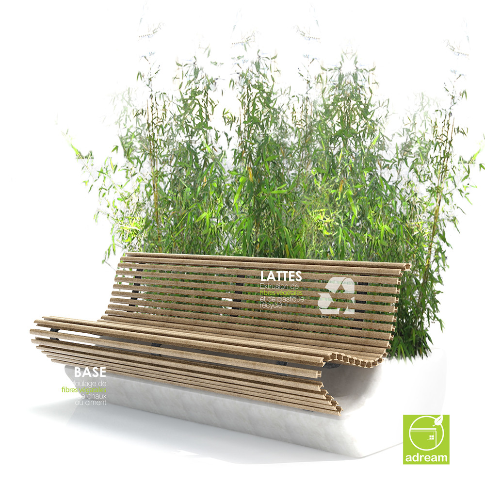 ADREAM 2012, Greeny bench design: Stephane Chapelet
