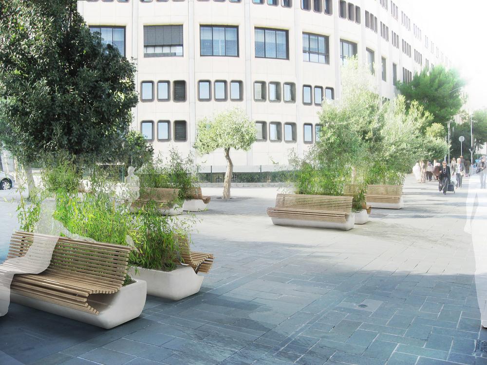ADREAM 2012, Greeny bench design: Stephane Chapelet