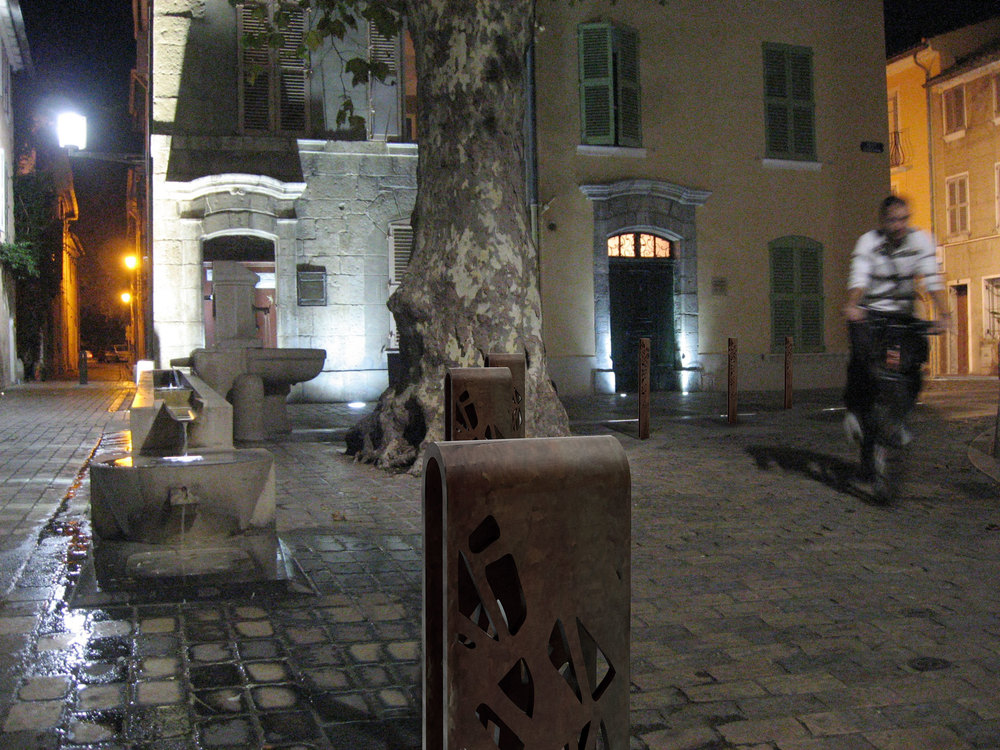 Crossed Bollard by Stephane Chapelet for LAB23